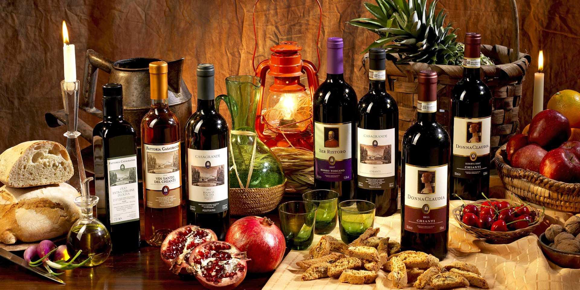 Fattoria casagrande movimento turismo del vino toscana for Vecchie planimetrie della fattoria