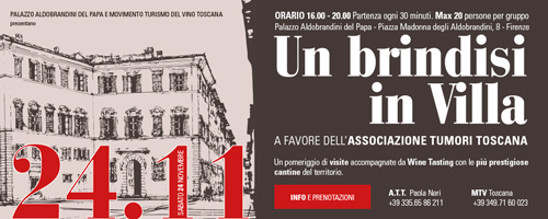 evento brindisi in villa